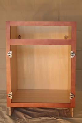 Kitchen Cabinets - Assembly Picture