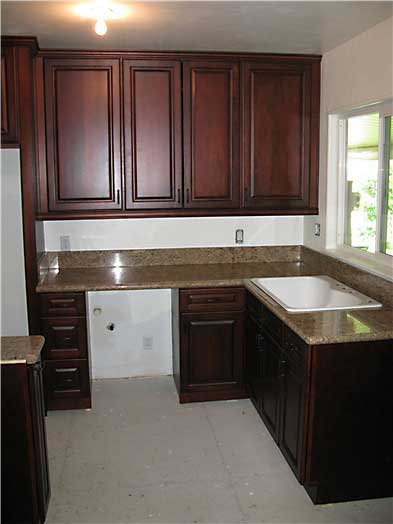 Close The Door >> Antique Cherry walnut Kitchen Cabinets And Bathroom ...