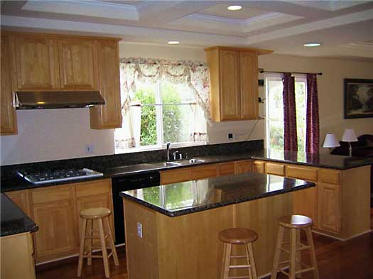 Arched Oak Kitchen Cabinets And Bathroom Vanities