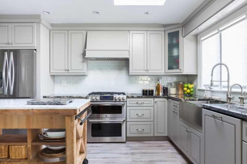 Modern Gray Kitchen Cabinets | Kitchen Pro
