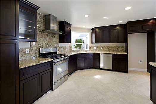 Modern Chocolate Kitchen Cabinets  Kitchen Pro