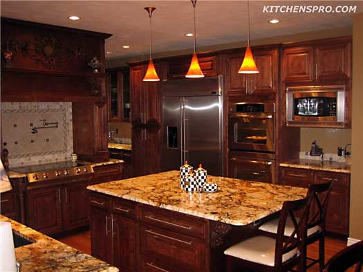 Rich Macchiato Kitchen Cabinets Kitchen Pro