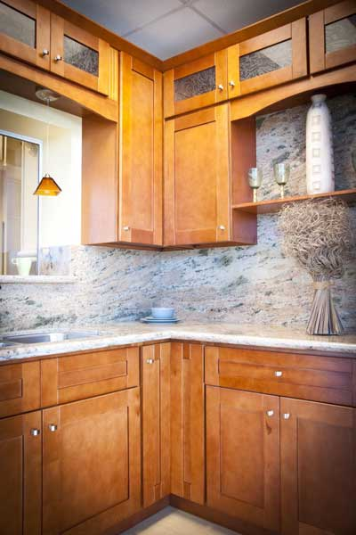 Shaker Cinnamon Kitchen Cabinets And Bathroom Vanities Information Page Kitchens Pro